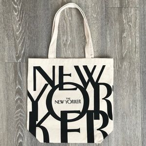 The New Yorker Magazine Canvas Tote